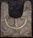 Maasai leather bag