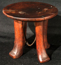 Pokot stool, neck rest
