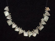 Ethiopian silver telsum necklace